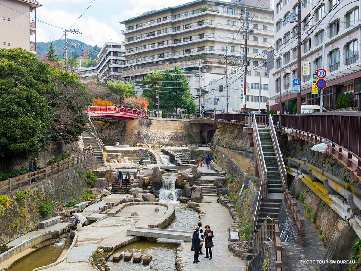Let's take a day trip to Arima hot springs!